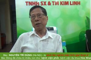 Bác Nguyễn Trí Dũng ĐẶT TRỌN NIỀM TIN THEO ĐIỀU TRỊ TẠI ĐÔNG Y KIM LINH