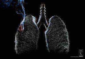 hút thuốc lá là đối mặt với tử thần